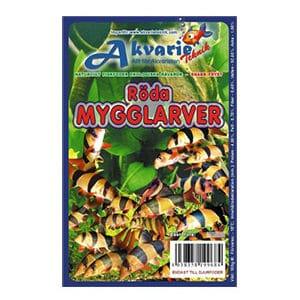 AT Frysfoder Röda Mygglarver 100 g