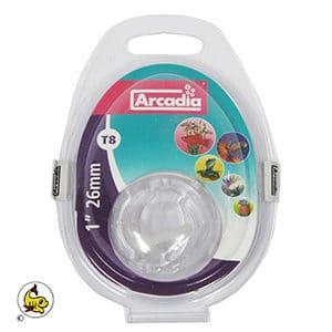 Arcadia T 8-Clips plast 2-p ST 8
