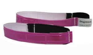 DM Reflexhalsband K lila 20 cm