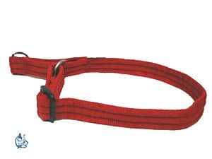 DM Draghalsband rött