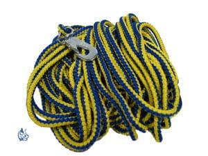 DM Dressyr/Spårlina 15 m gul/blå