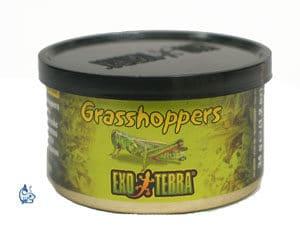 Exo-Terra Torkade Gräshoppor 34 g