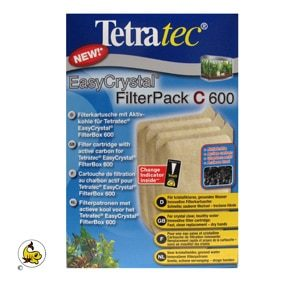 Tetratec EasyCrystal Kolfilterplatta 600 3-p