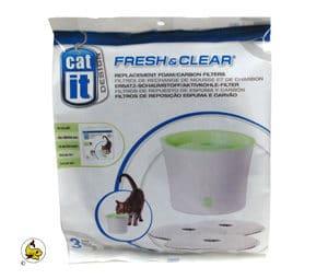 Cat-It Fresh & Clear-Kolfilter 3 lit 3-p