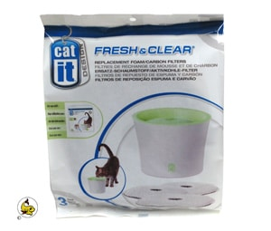 Cat-It Fresh & Clear-Kolfilter 3 lit 3-p