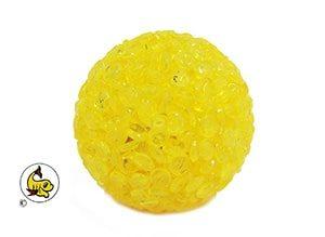 Trixie Glitterboll gul