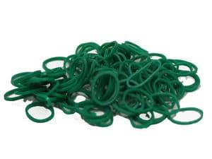 Hårsnodd 15 mm grön