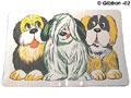 Matskålsunderlägg hund