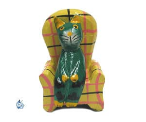 Katt i fåtölj 1