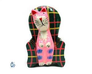 Katt i fåtölj 2