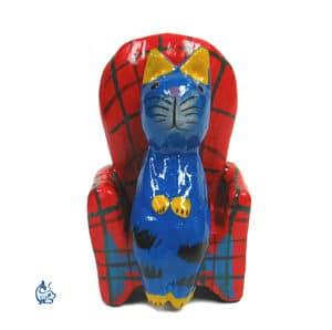 Katt i fåtölj 3