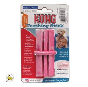 Kong Teething Stick rosa