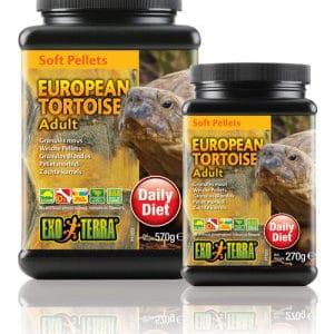 Exo-Terra Landsköldpaddsfoder Adult 570 g