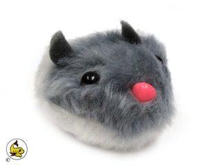 DM Vibrerande mus gråvit