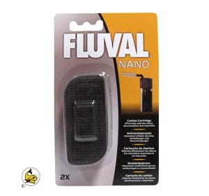 Fluval Nano Kolfilterkassett 2-p