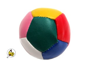 Fotboll mjuk flerfärgad 6