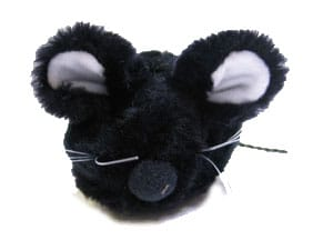 Cat-It Plyschmus svart