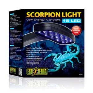 Exo-Terra LED-belysning scorpioner